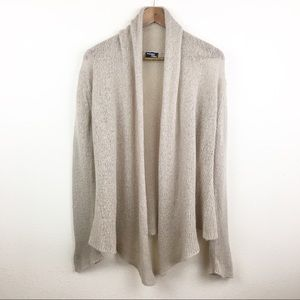 Anthropologie Wooden Ships Open Front Cardigan